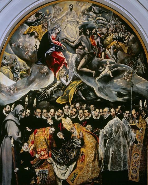 Burial of the Count of Orgaz. El Greco