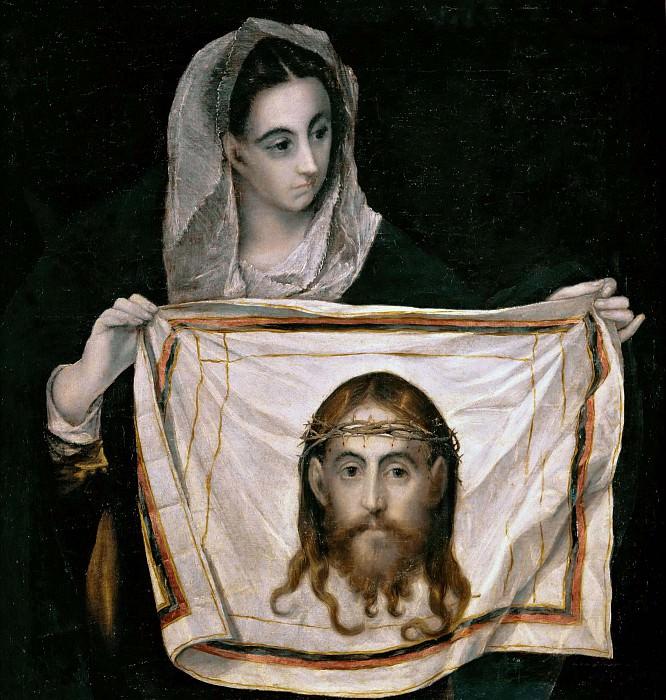 Saint Veronica with the Sudarium. El Greco