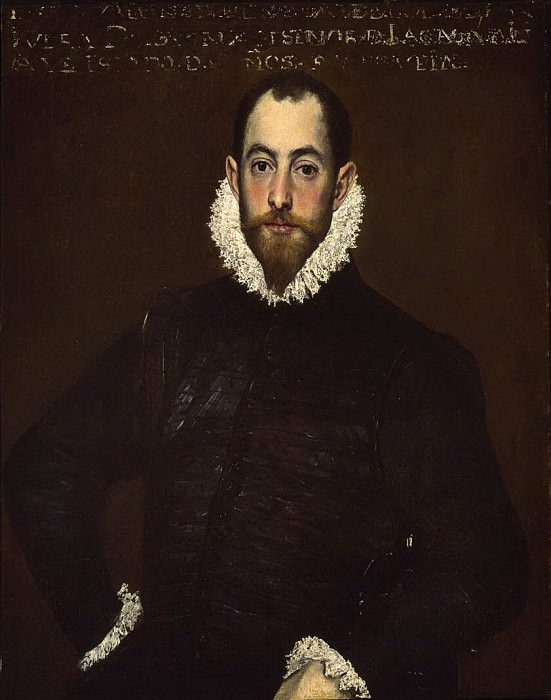 Portrait of a Man of the House of Leiva. El Greco