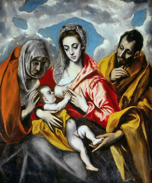 Holy Family. El Greco