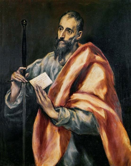 St Paul. El Greco