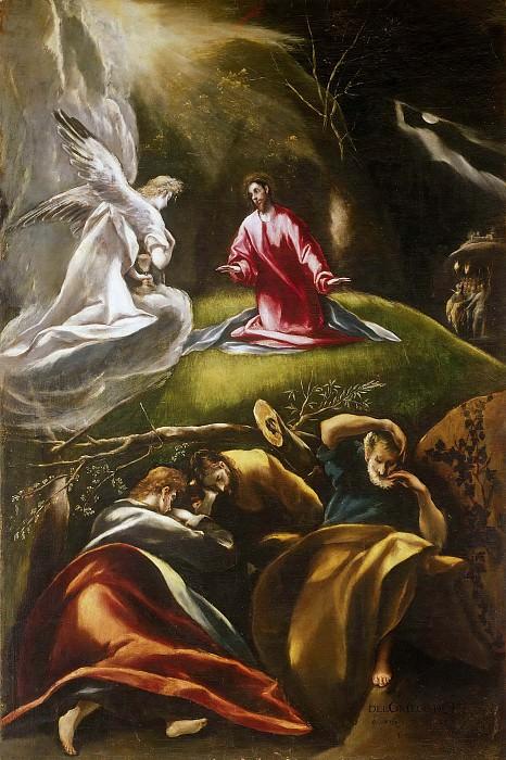 Agony in the Garden. El Greco