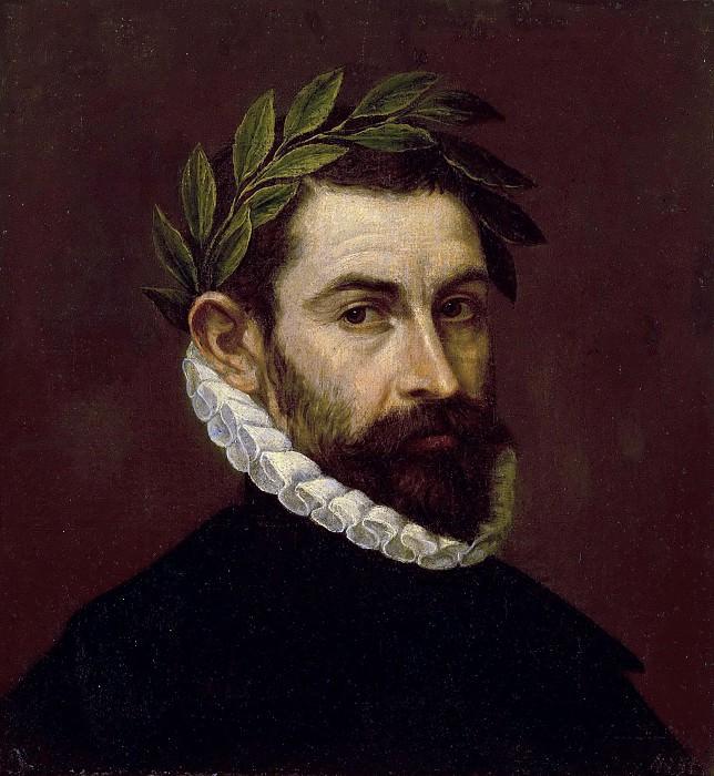 Poet Alonso Ercilla y Zuniga. El Greco