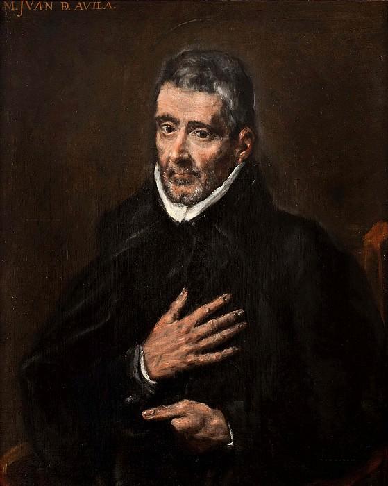Portrait of Juan de Avila. El Greco