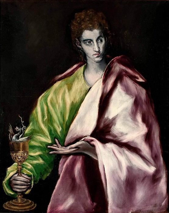 Saint John the Evangelist. El Greco