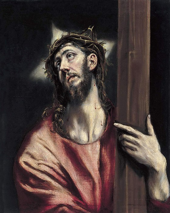 Christ with the Cross. El Greco