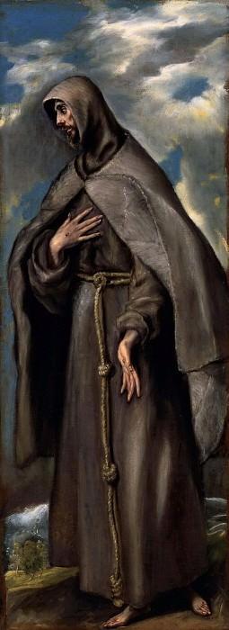 St.Francis of Assisi. El Greco