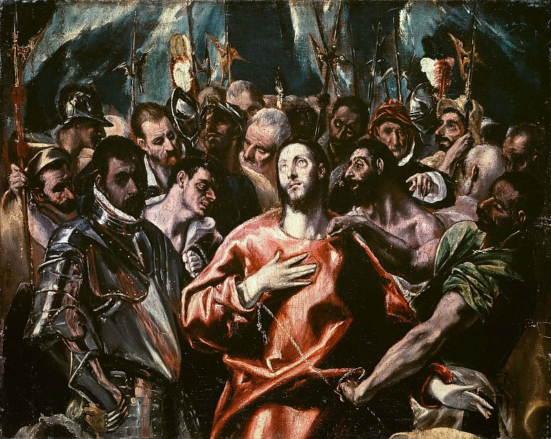 Disrobing of Christ. El Greco
