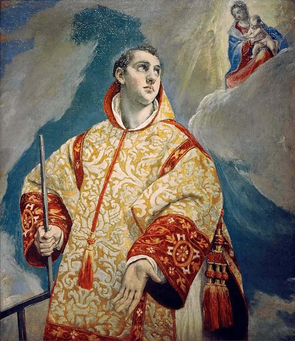 Vision of Saint Laurentius. El Greco