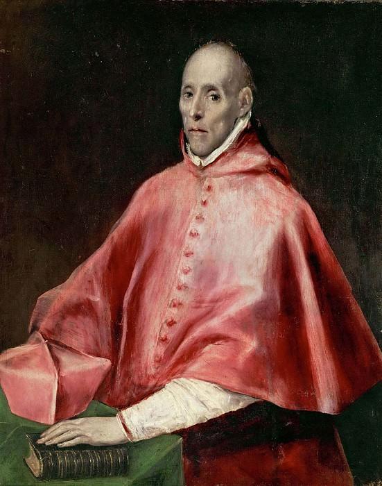 Portrait of Cardinal Tavera. El Greco