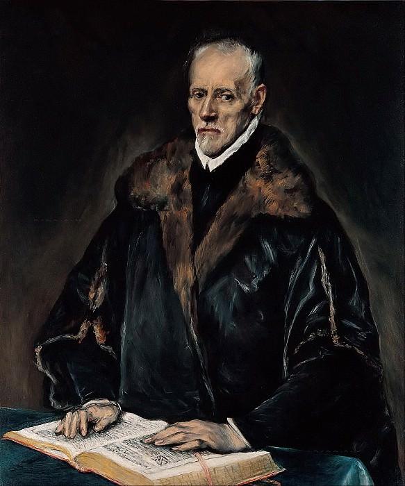 Portrait of Dr. Francisco de Pisa. El Greco