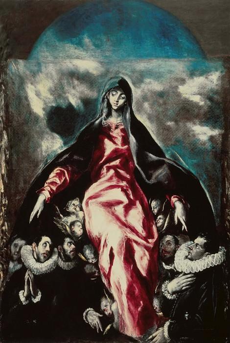 Madonna of Mercy. El Greco