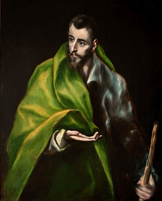 Apostle James the Greater. El Greco
