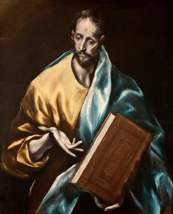 Apostle James the Less. El Greco