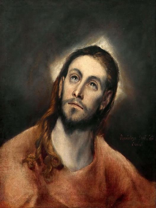 Christ in Prayer. El Greco