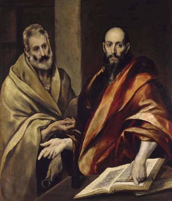 Saints Peter and Paul. El Greco