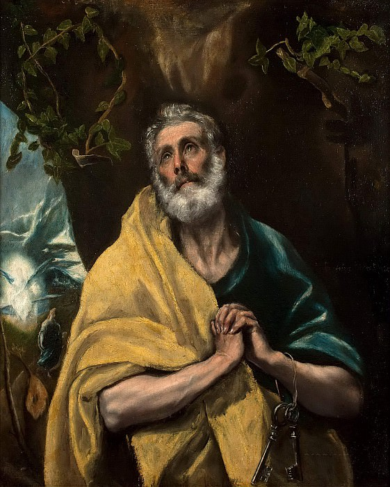 Saint Peter in Tears. El Greco