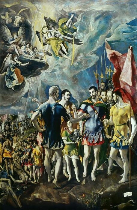 Martyrdom of Saint Maurice. El Greco