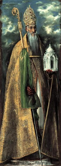 St. Augustine. El Greco