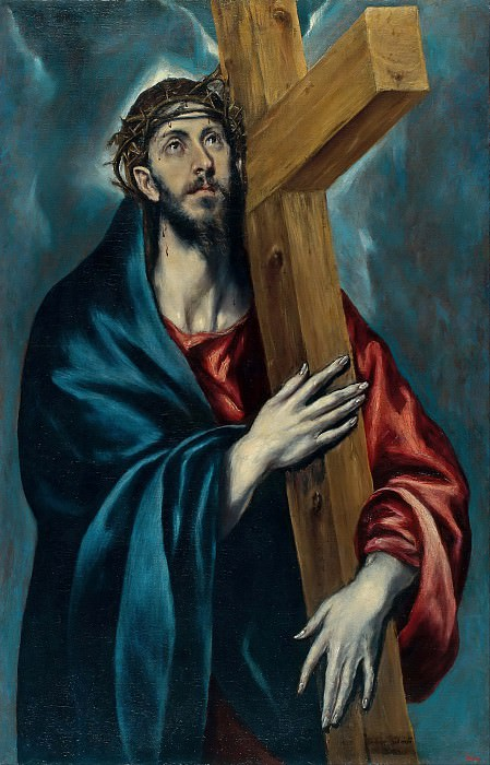 Christ Carrying the Cross. El Greco