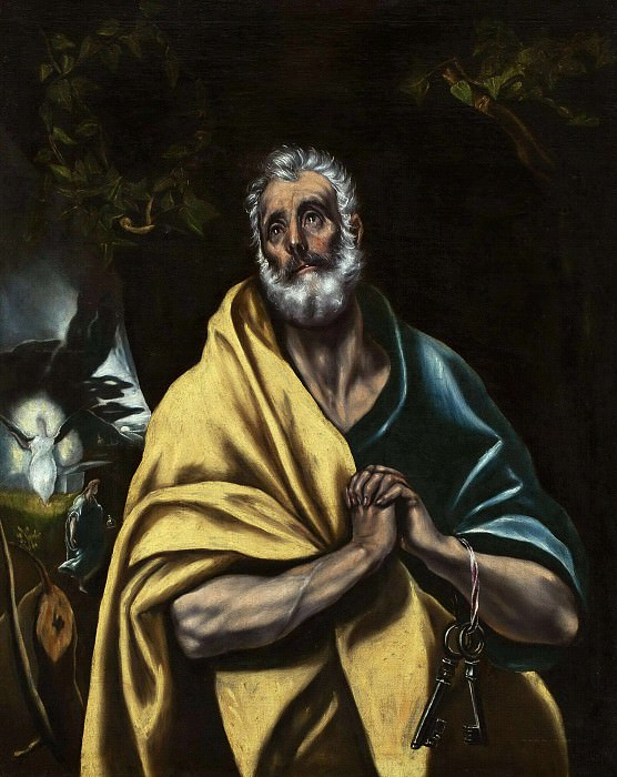 The tears of Saint Peter. El Greco