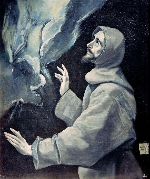 Стигматизация святого Франциска. Эль Греко