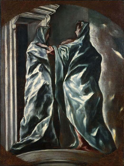 Встреча Марии и Елизаветы. Эль Греко