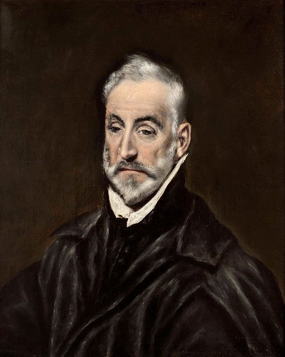 Portrait of Antonio de Covarrubias. El Greco