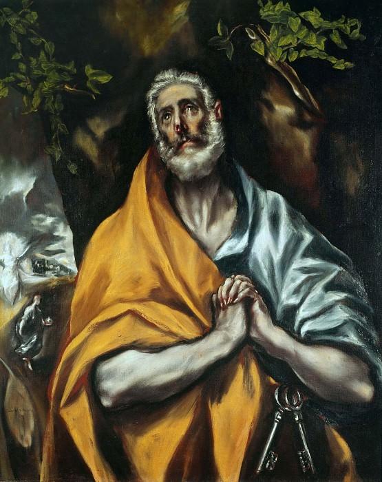 Saint Peter in Tears. El Greco