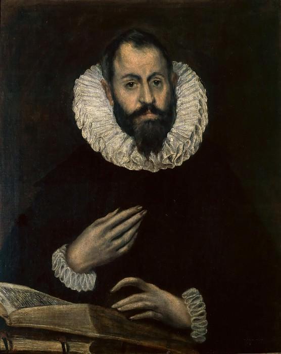 Portrait of a Man. El Greco