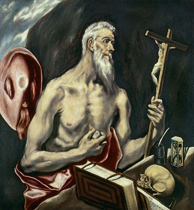 Saint Jerome in Penitence. El Greco
