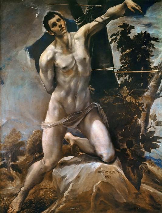 Saint Sebastian. El Greco