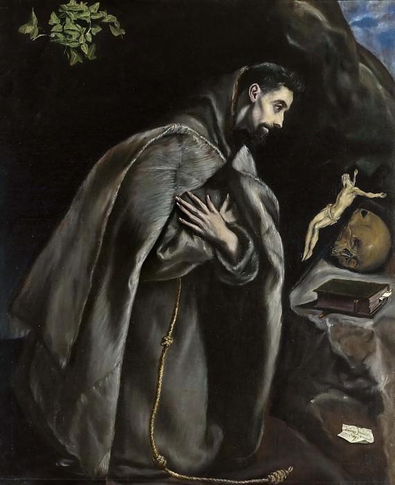 Saint Francis. El Greco