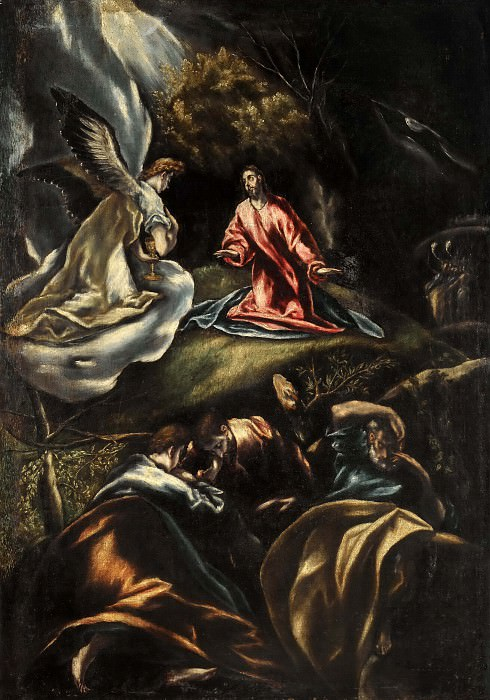Jesus in the Garden of Olives. El Greco