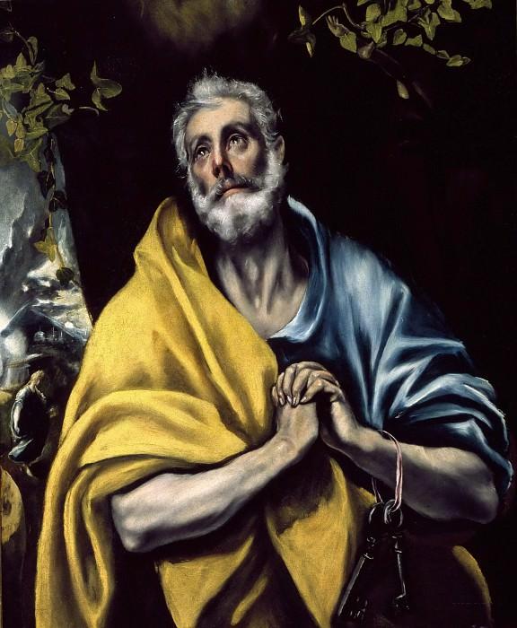 The Tears of Saint Peter. El Greco