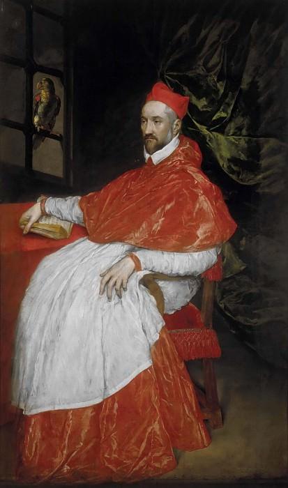 Portrait of Charles de Guise, cardinal of Lorraine. El Greco