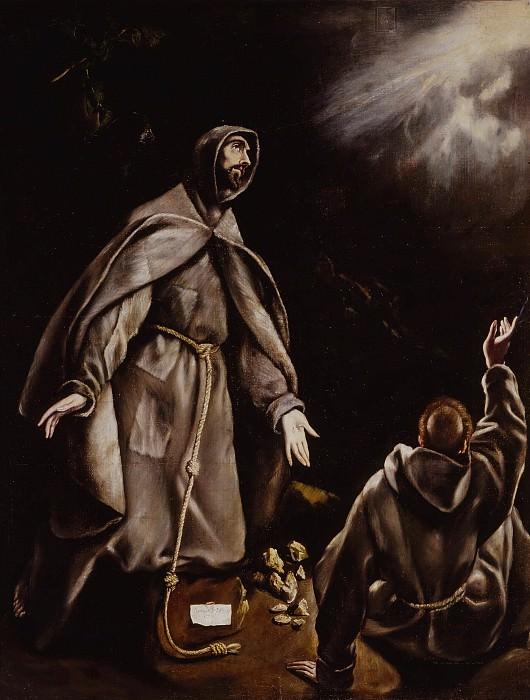 Saint Francis in Ecstasy. El Greco
