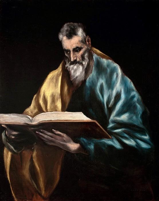 Apostle Simon. El Greco