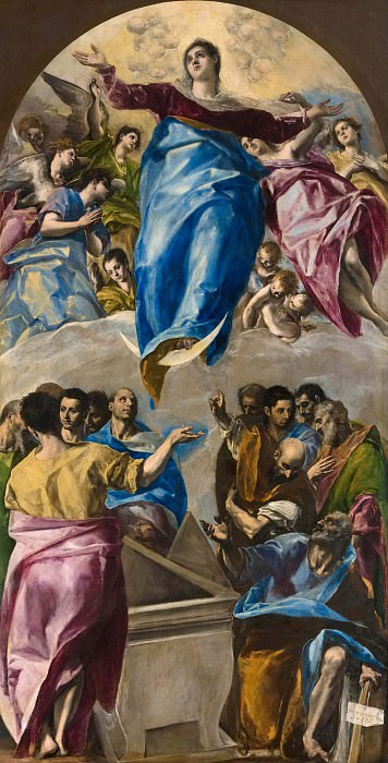 The Assumption of the Virgin. El Greco