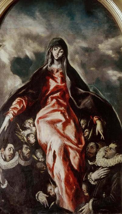 Virgin of Charity. El Greco