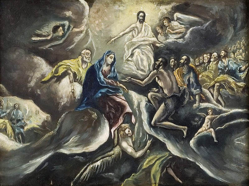 Count Orgaz' funeral. El Greco (After)