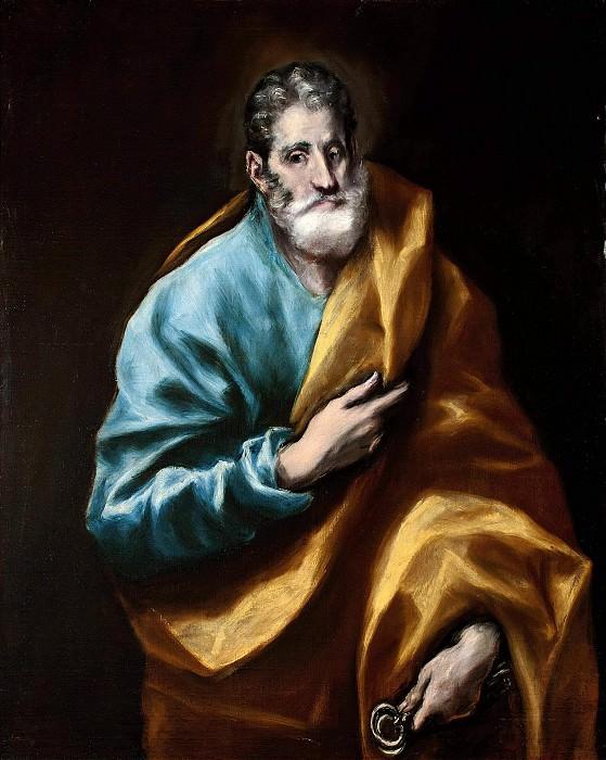 Апостол Петр. Эль Греко