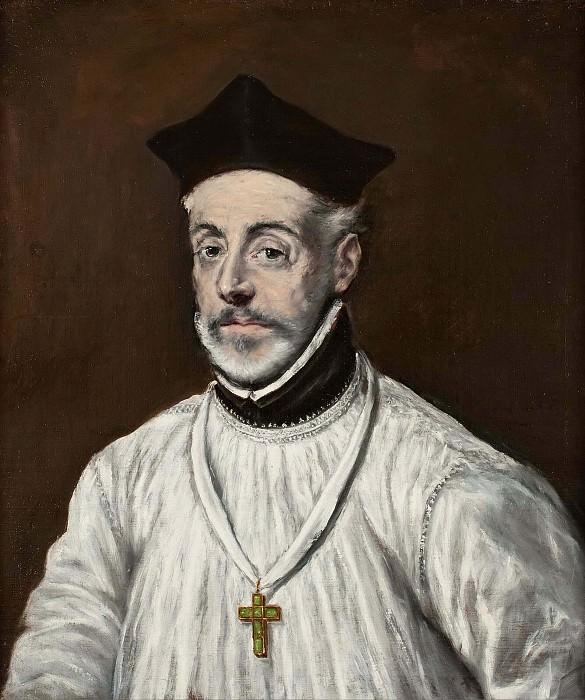 Портрет Диего де Коваррубиас и Лейва. Эль Греко