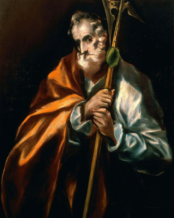 Apostle Jude Thaddeus. El Greco
