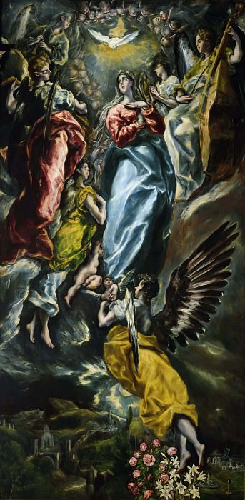 The Assumption of the Virgin Mary. El Greco