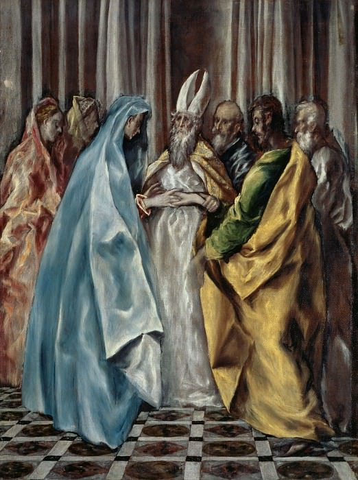 The Marriage of Mary. El Greco