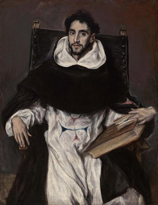 Брат Ортенсио Феликс Паравичино. Эль Греко