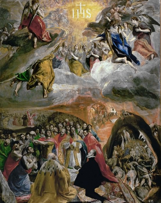 Adoration of the Name of Jesus (The Dream of Felipe II). El Greco