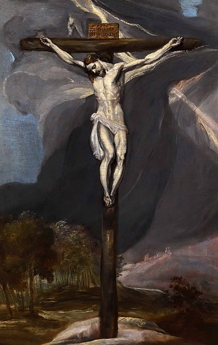 Christ on the Cross. El Greco