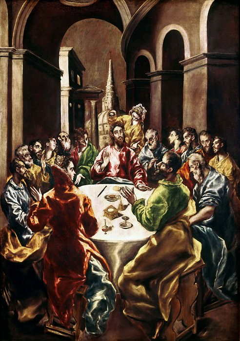 Feast in the House of Simon. El Greco